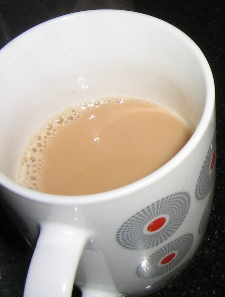 Saffron Ginger Tea (2/2)