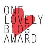 one lovely blog award new