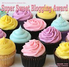super sweet blogging award new
