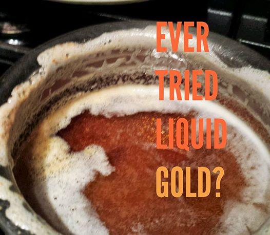 Liquid gold - clarified butter or ghee (1/3)