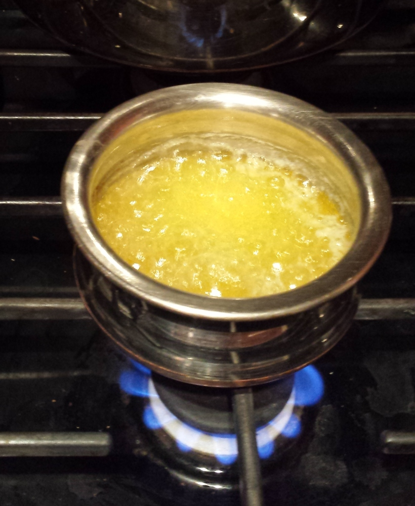Liquid gold - clarified butter or ghee (3/3)