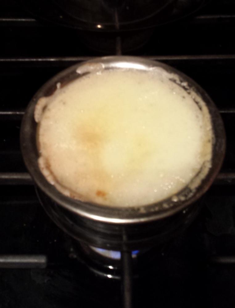 Liquid gold - clarified butter or ghee (2/3)