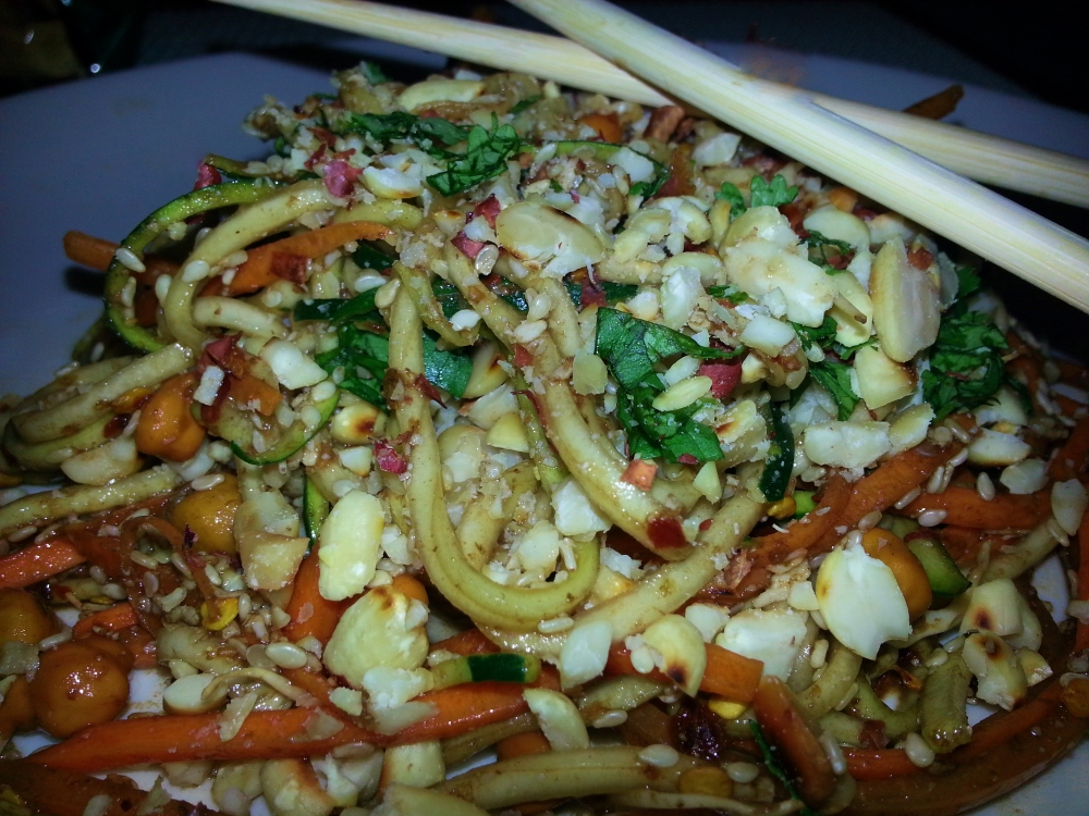 Vegan pad Thai (1/4)