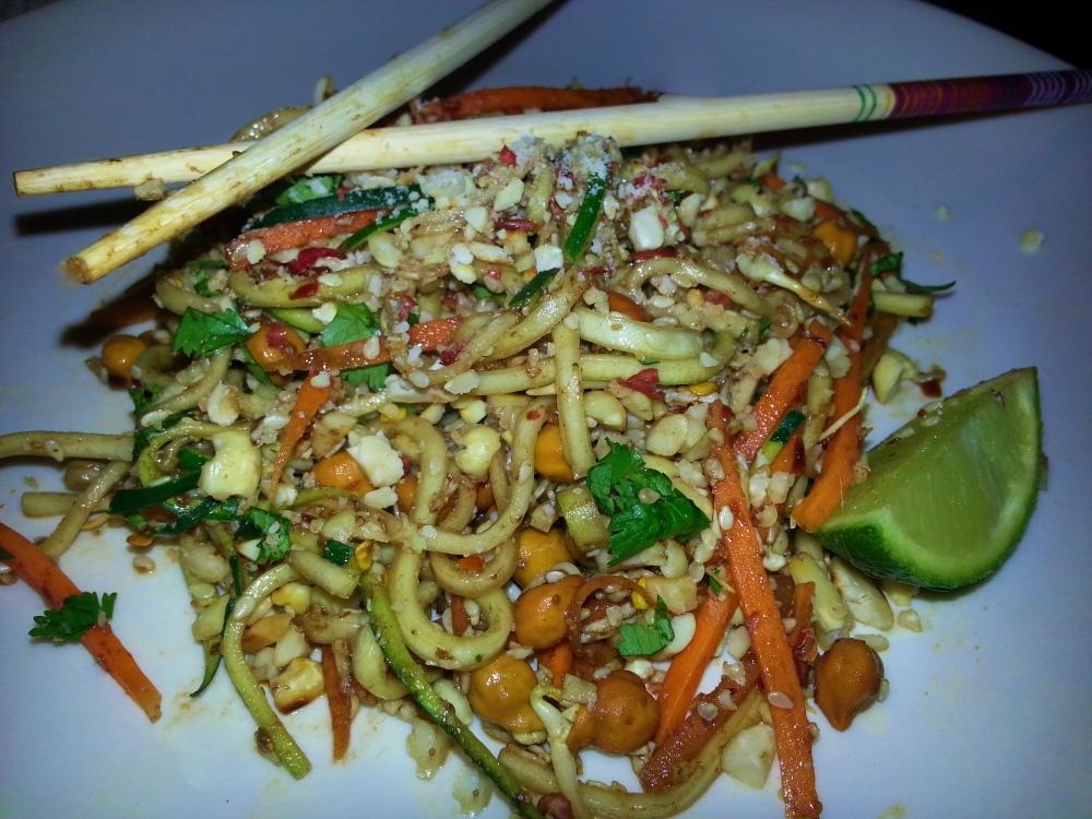 Vegan pad Thai (4/4)